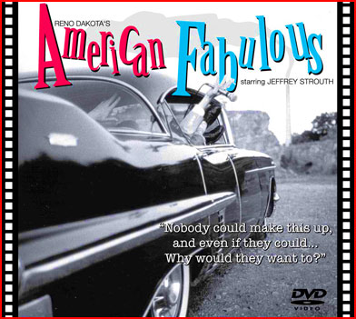 DVD cover for Reno Dakota's film